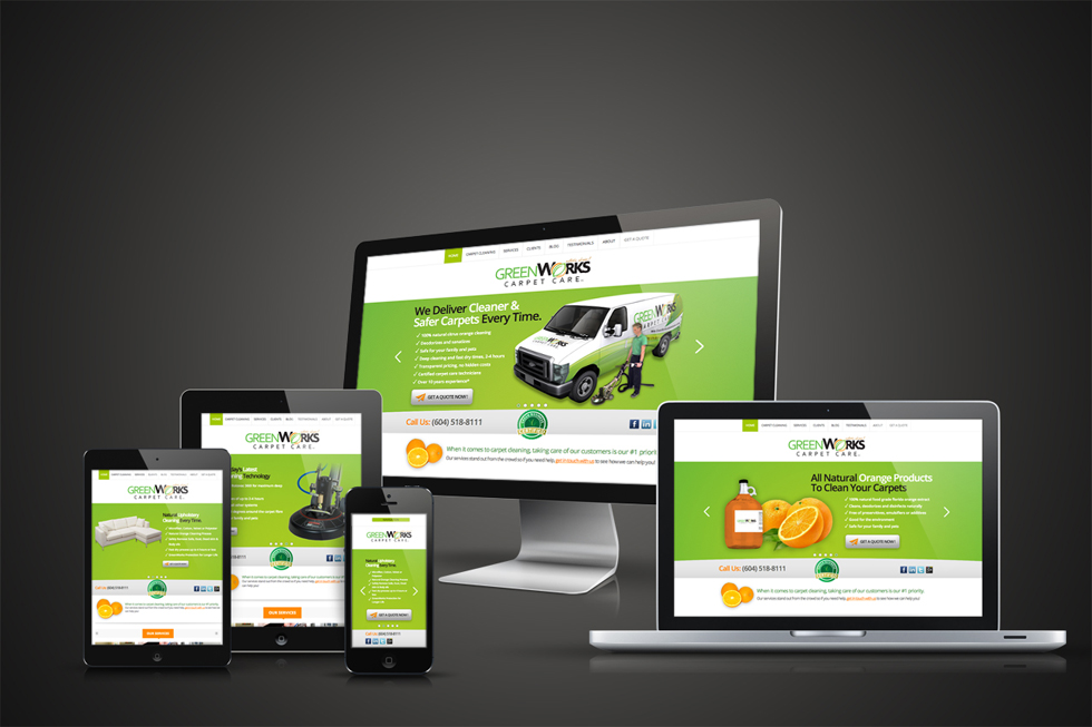 Solocubes Custom Website Design Enhances GreenWorks